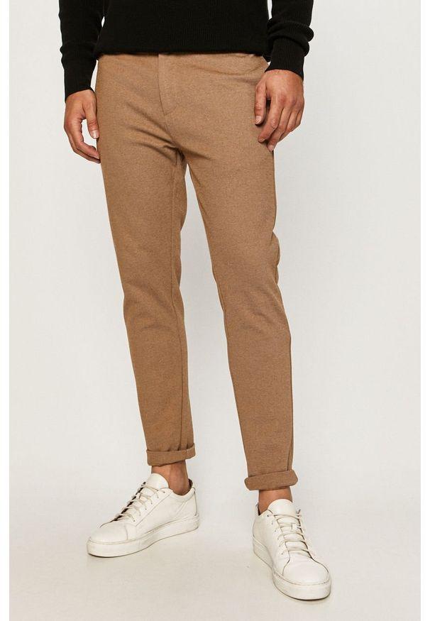 Brązowe spodnie Clean Cut Copenhagen