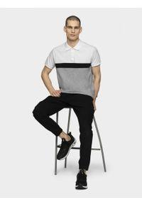 Biała koszulka polo outhorn polo