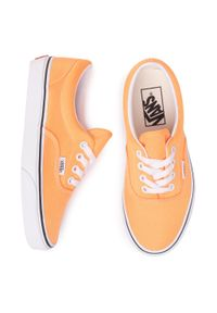 Pomarańczowe buty sportowe Vans z cholewką, Vans Era