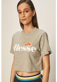 Ellesse - T-shirt. Kolor: szary