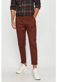 Brązowe spodnie PRODUKT by Jack & Jones