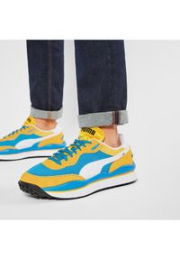Puma Sneakersy Style Rider Stream On 371527 03 Żółty. Kolor: żółty