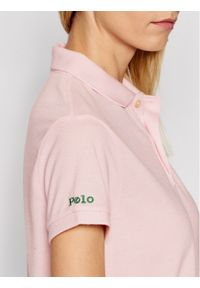 Polo Ralph Lauren Polo 211806666005 Różowy Classic Fit. Typ kołnierza: polo. Kolor: różowy