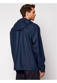 Rains Kurtka przeciwdeszczowa Unisex 1826 Granatowy Regular Fit. Kolor: niebieski
