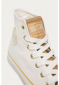 Big-Star - Big Star - Trampki. Nosek buta: okrągły. Zapięcie: sznurówki. Kolor: biały. Materiał: guma