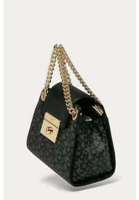 Czarna torebka DKNY na ramię, mała