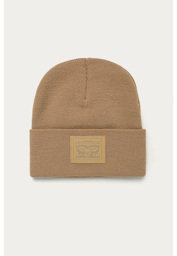 Czerwona czapka Levi's® biznesowa, w kolorowe wzory