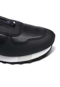Czarne sneakersy Bally z cholewką, na co dzień