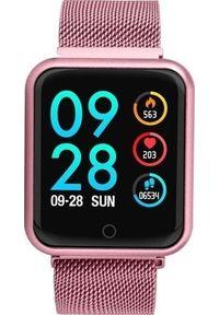 Smartwatch Roneberg RP68 Różowy. Rodzaj zegarka: smartwatch. Kolor: różowy