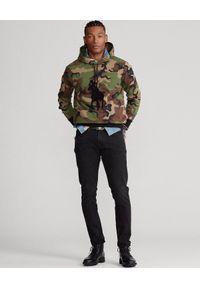 Ralph Lauren - RALPH LAUREN - Bluza z kapturem Big Pony Camo Double. Typ kołnierza: kaptur. Kolor: zielony. Wzór: moro