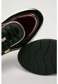 Buty sportowe Karl Lagerfeld na sznurówki, z cholewką