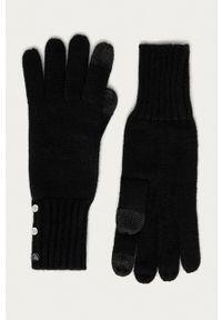Lauren Ralph Lauren - Rękawiczki. Kolor: czarny