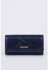 Niebieski portfel Monnari