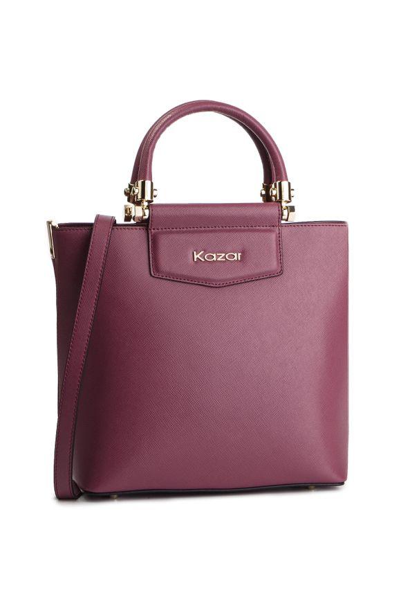 Czerwona torebka klasyczna Kazar elegancka