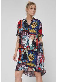 medicine - Medicine - Sukienka The Black Keys. Materiał: tkanina. Długość rękawa: krótki rękaw
