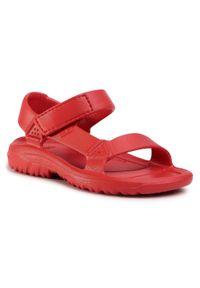 Czerwone sandały Teva