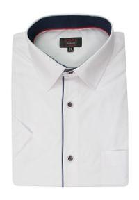Elegancka koszula Jurel krótka, z krótkim rękawem