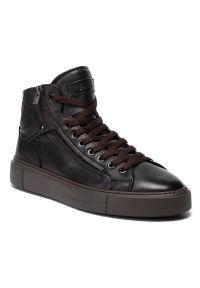 Brązowe sneakersy Fabi