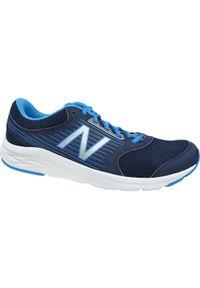 Niebieskie buty do biegania New Balance w kolorowe wzory, z cholewką