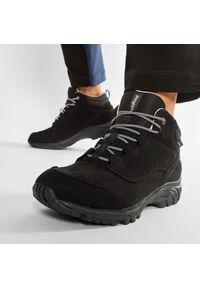 Czarne buty trekkingowe trekkingowe