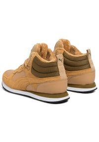 Żółte buty trekkingowe Puma