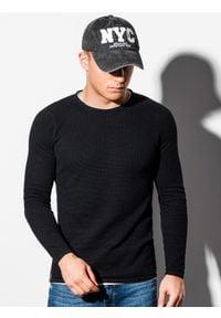 Czarny sweter Ombre Clothing na co dzień, casualowy