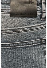 Szare jeansy medicine retro