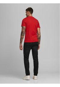 Jack & Jones - Jack&Jones T-Shirt Corp 12151955 Czerwony Slim Fit. Kolor: czerwony