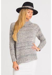Sweter Weekend Max Mara krótki, z długim rękawem, na spacer