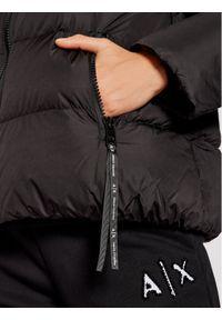 Armani Exchange Kurtka puchowa 6KYB14 YNUNZ 1200 Czarny Regular Fit. Kolor: czarny. Materiał: puch