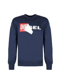 """Diesel Bluza """"S-Samy"""". Okazja: na co dzień. Materiał: bawełna. Styl: casual"""