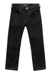 Emporio Armani Jeansy 6G4J06 1N6AZ 0999 Czarny Slim Fit. Kolor: czarny