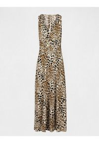 Morgan Sukienka wieczorowa 201-RONO.F Brązowy Regular Fit. Kolor: brązowy. Styl: wizytowy