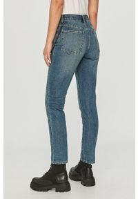 Niebieskie proste jeansy Armani Exchange