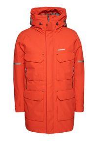 Didriksons Kurtka zimowa Drew 503199 Pomarańczowy Classic Fit. Kolor: pomarańczowy. Sezon: zima