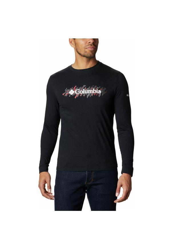 Czarna koszulka sportowa columbia