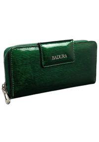 Portfel damski zielony Badura B-43879P-SH. Kolor: zielony. Materiał: skóra