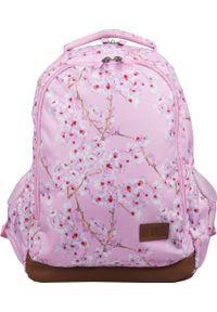 St. Majewski Plecak szkolny St. Right Kwiat wiśni (BP-47). Wzór: kwiaty
