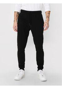 Czarne spodnie dresowe Only & Sons