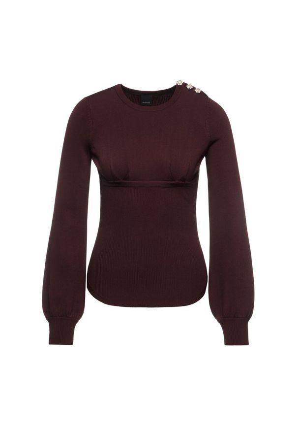 Czerwony sweter Pinko