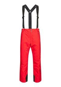 Czerwone spodnie sportowe Colmar narciarskie