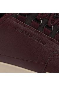 Czerwone sneakersy G-Star RAW