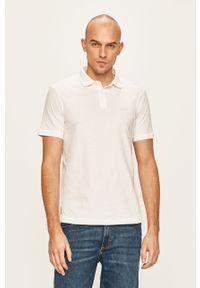 Biała koszulka polo Armani Exchange polo, krótka