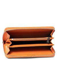 Pomarańczowy portfel Patrizia Pepe