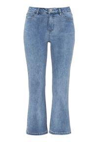 Niebieskie jeansy Cellbes krótkie, klasyczne