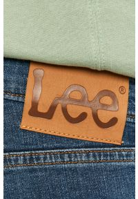 Lee - Jeansy Luke. Kolor: niebieski