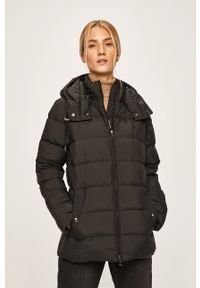 Czarna kurtka Polo Ralph Lauren na co dzień, polo, casualowa