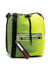 Zielona torebka worek Tommy Jeans