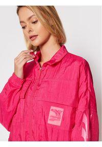 Puma Kurtka przejściowa Evide Woven 597770 Różowy Relaxed Fit. Kolor: różowy