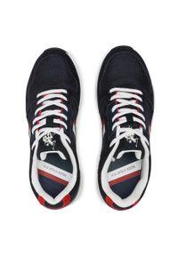 U.S. Polo Assn - Sneakersy U.S. POLO ASSN. - Clem CLEM4095S1/HM1 Navy. Okazja: na co dzień. Kolor: niebieski. Materiał: skóra, skóra ekologiczna, materiał. Szerokość cholewki: normalna. Styl: elegancki, sportowy, casual
